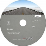 AUDI Navigation MMI 2G Eastern Europe 2018 DVD disk
