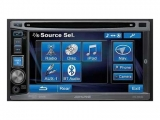 ALPINE IVE-W530BT 2DIN autorádio s USB, DVD, CD, MP3