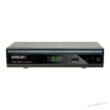 Set-top box EVOLVEO GAMMA TDE DT-4060-T2-HEVC dual tuner