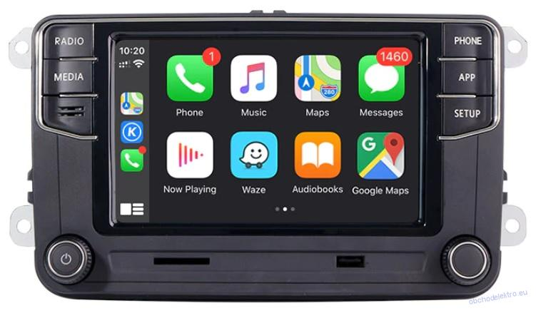 VW RCD360 Apple CarPlay+Mirrorlink