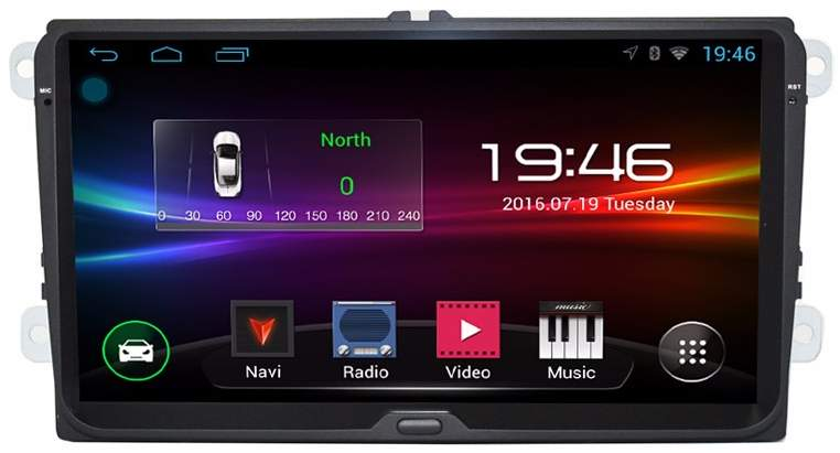 "!!Akce!! 9"" Android USB GPS BT"