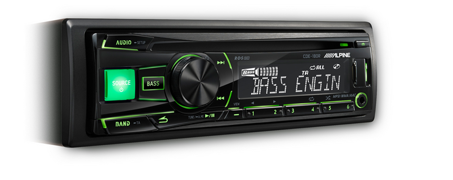 ALPINE CDE-180R 1DIN autorádio s CD,MP3,USB