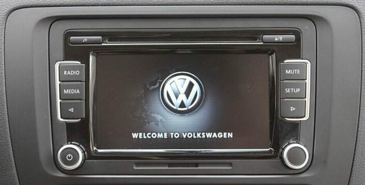 VW RCD510 USB SD MP3  6CD