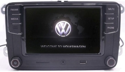 "VW RCD330Plus 6.5"" LCD Golf,Jetta,Passat"