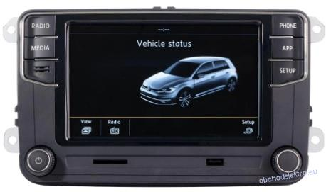 "VW RCD360C Apple CarPlay 6.5"" LCD Polo 6C"