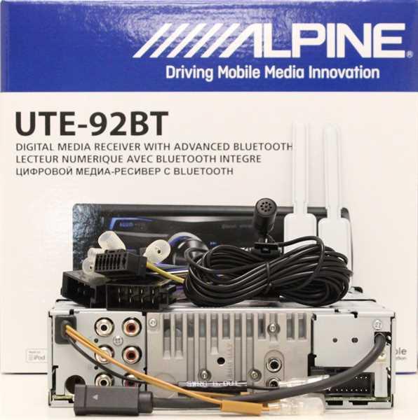 alpine ute 92bt autor dio bez cd s handsfree autoelektronika autonavigce servis odkodov n. Black Bedroom Furniture Sets. Home Design Ideas