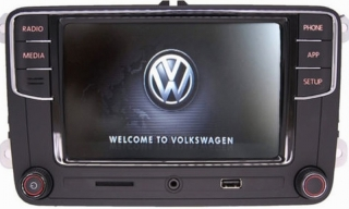 VW RCD330G Android Auto CarPlay MirrorLink