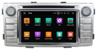 TOYOTA Hilux Android 8 DVD USB GPS navigace