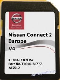 NISSAN 2020 V4 NISSAN CONNECT 2 SD Karta