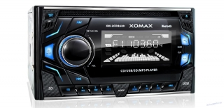 XOMAX 2DIN autorádio CD/SD/USB/Bluetooth